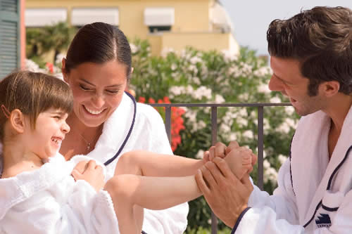Family health treatments of health tourism Italy