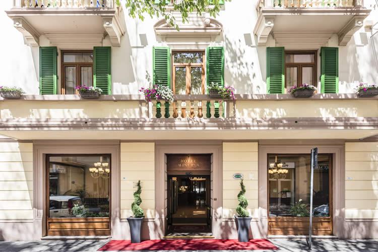 Hotel Minerva Palace Montecatini Terme Tuscany Italy