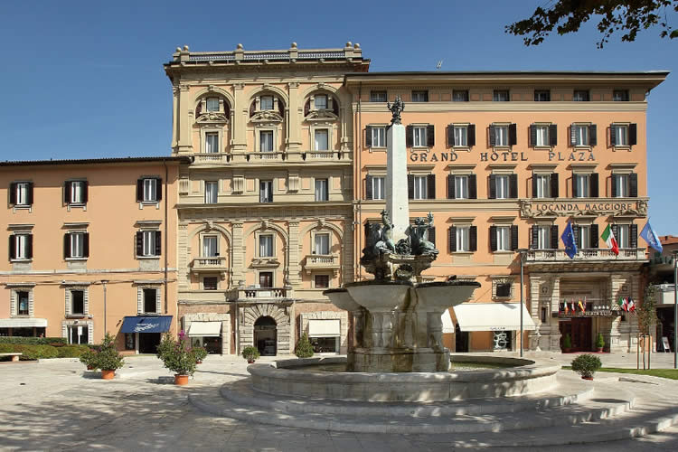 Grand Hotel Plaza Montecatini Terme Italy
