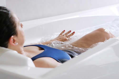 Health thermal water terapy