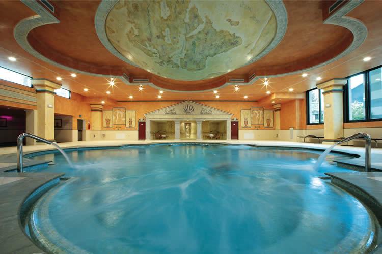 Thermal pool Villa Quaranta Valpolicella Veneto Italy