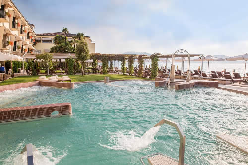 Thermal pool Grand Hotel Terme Sirmione